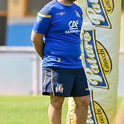 Calvisano 24/05/2018 <br /> Allenamento nazionale italiana di rugby<br /> Giampiero De Carli