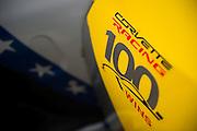 August 5-7, 2016 - Road America: Corvette Racing, Corvette C7 GTLM, 100 wins celebration sticker