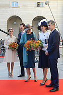 04.10.2016. Copenhagen, Denmark.  <br /> Princess Marie, Prince Joachim,  Princess Benedikte, Crown Princess Mary and Crown Prince Frederik attended the opening session of the Danish Parliament (Folketinget) at Christiansborg Palace in Copenhagen, Denmark.<br /> Photo: &copy; Ricardo Ramirez