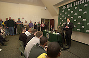 New Basketball Coach Tim O'Shea Press Conference