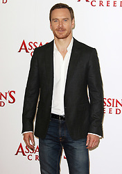 © Licensed to London News Pictures. 08/12/2016. London, UK, Michael Fassbender, Assassin's Creed - London Photocall, Photo credit: Brett Cove/LNP