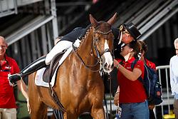Werth Isabell, GER, Bella Rose<br /> Tryon - FEI World Equestrian Games™ 2018<br /> Impressionen Abreiteplatz<br /> Grand Prix Special Einzelentscheidung<br /> 14. September 2018<br /> © www.sportfotos-lafrentz.de/Sharon Vandeput