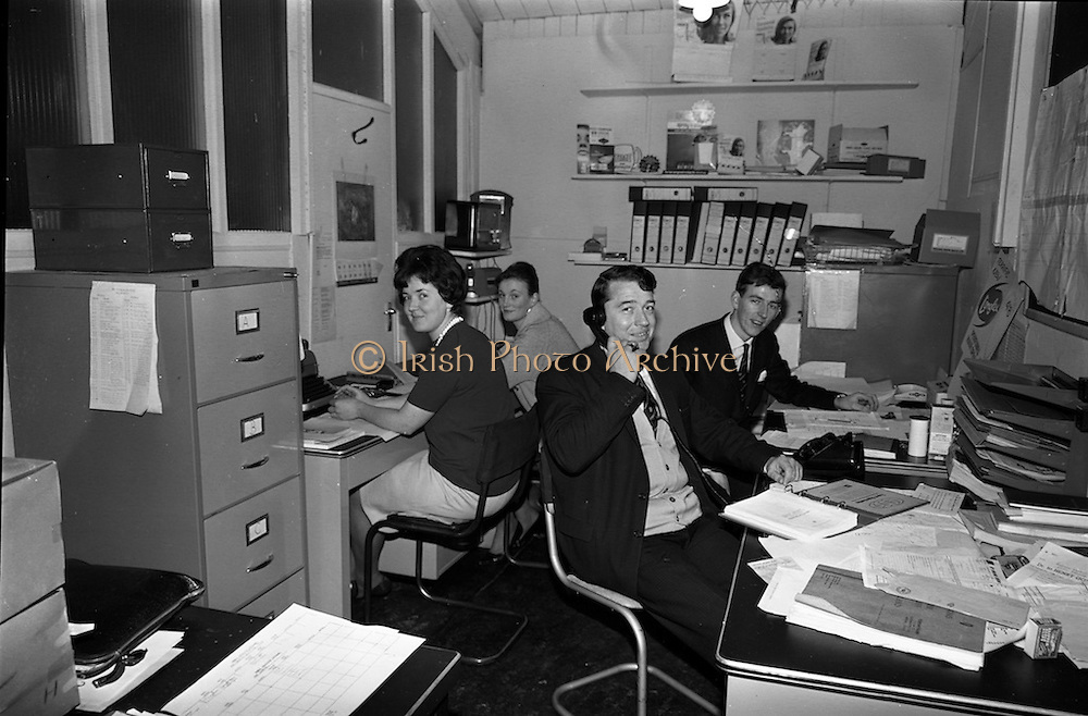 18/11/1964<br /> 11/23/1964<br /> 18 November 1964<br /> <br /> Production office stff Peggy Bannon, Margaret Alexander, Laurence Whelan and Tom Thompson