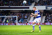 QPR (3) Jake Bidwell during the EFL Sky Bet Championship match between Queens Park Rangers and Fulham at the Loftus Road Stadium, London, England on 29 September 2017. Photo by Sebastian Frej.