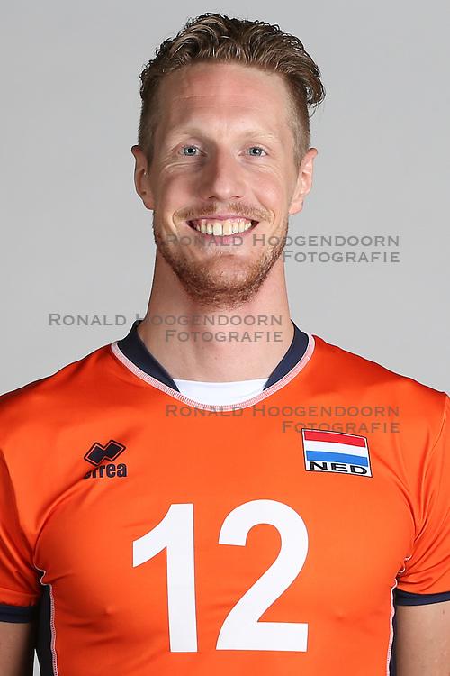 20160516 NED: Selectie Nederlands volleybal team mannen, Arnhem<br />Kay van Dijk