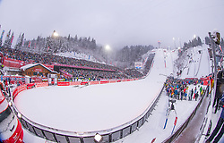 28.12.2014, Schattenbergschanze, Oberstdorf, GER, FIS Ski Sprung Weltcup, 63. Vierschanzentournee, im Bild Erdinger Arena// during of 63 rd Four Hills Tournament of FIS Ski Jumping World Cup at the Schattenbergschanze, Oberstdorf, Germany on 2014/12/28. EXPA Pictures © 2014, PhotoCredit: EXPA/ Peter Rinderer