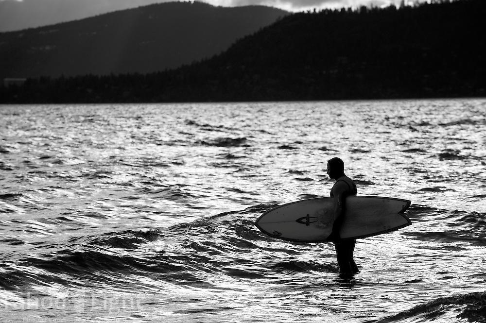 Lake Tahoe homes and surfing near Hidden Beach