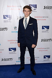 Robbie Kay, at the 2016 TMA Heller Awards, Beverly Hilton Hotel, Beverly Hills, CA 11-10-16. EXPA Pictures © 2016, PhotoCredit: EXPA/ Avalon/ Martin Sloan<br /> <br /> *****ATTENTION - for AUT, SLO, CRO, SRB, BIH, MAZ, SUI only*****