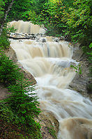 Sable Falls Pictured Rocks National Lakeshore Michigan