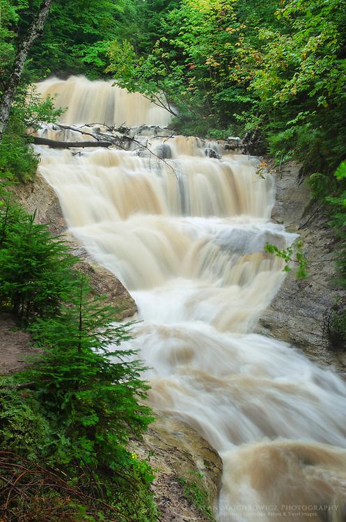 Sable Falls Pictured Rocks National Lakeshore Michigan
