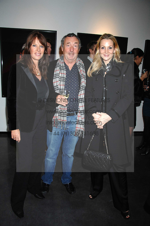 Left to right, NICK &amp; NETTE MASON and KAREN MULVILLE at a private view of Octagan a showcase of work of photographer Kevin Lynch featuring the stars of the Ultimate Fighter Championship held at Hamiltons gallery, Mayfair, London on 17th January 2008.<br />