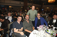 The Chemical Brothers at their table during the O2 Silver Clef Awards 2019, Grosvenor House, London, UK, Friday 05 July 2019<br /> Photo JM Enternational