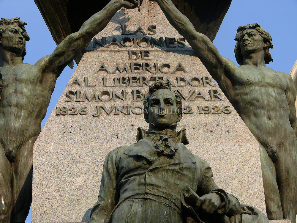 Plaza Simon Bolivar. El  Casco Antiguo de la  Ciudad de Panamá es declarado Patrimonio de la Humanidad por UNESCO en el año de 1997. .(Victoria Murillo/Istmophoto)