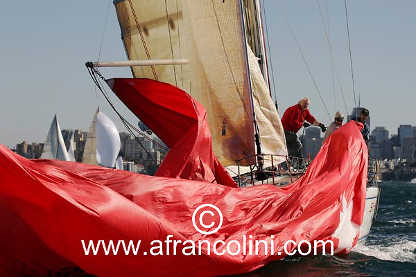 SAILING - BMW Winter Series 2004/ Sydney  (AUS) - STREWTH - 4/07/04 - Photo: Andrea Francolini