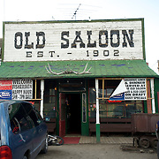 Saloon.  Montana, USA