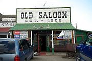 Saloon.  Montana, USA