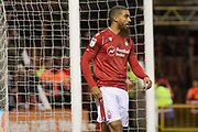 Lewis Grabban during the EFL Sky Bet Championship match between Nottingham Forest and Middlesbrough at the City Ground, Nottingham, England on 10 December 2019.
