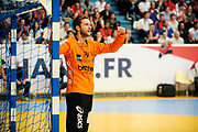 DESCRIZIONE : France Hand D1 Championnat de France D1 a Paris <br /> GIOCATORE : ROBIN Mickael<br /> SQUADRA : Montpellier<br /> EVENTO : FRANCE Hand D1<br /> GARA : Paris Montpellier<br /> DATA : 30/09/2012<br /> CATEGORIA : Hand D1 <br /> SPORT : Handball<br /> AUTORE : JF Molliere <br /> Galleria : France Hand 2012-2013 Action