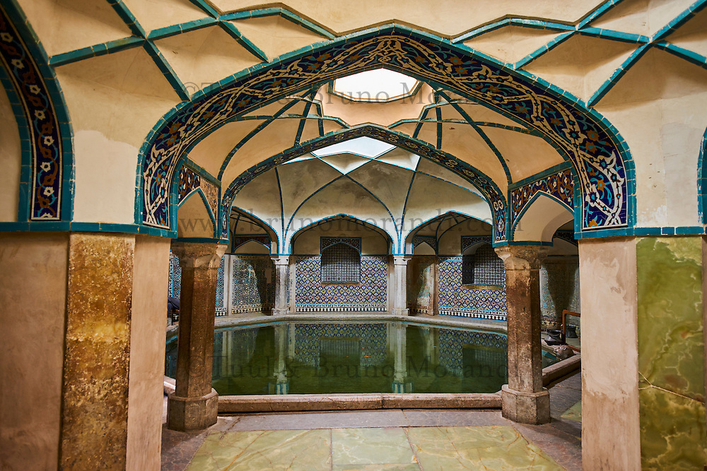Iran, province de Kerman, Kerman, hammam de Ganj Ali Khan // Iran, Kerman province, Kerman, Ganj Ali Khan hammam