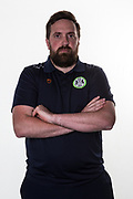 Forest Green Rovers secretary James Mooney during the official team photocall for Forest Green Rovers at the New Lawn, Forest Green, United Kingdom on 29 July 2019.