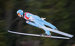 19.12.2014, Nordische Arena, Ramsau, AUT, FIS Nordische Kombination Weltcup, Skisprung, PCR, im Bild Willi Denifl (AUT) // during Ski Jumping of FIS Nordic Combined World Cup, at the Nordic Arena in Ramsau, Austria on 2014/12/19. EXPA Pictures © 2014, EXPA/ JFK