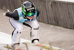 February 7, 2019 - Ljubno, Savinjska, Slovenia - Spela Rogelj of Slovenia competes on qualification day of the FIS Ski Jumping World Cup Ladies Ljubno on February 7, 2019 in Ljubno, Slovenia. (Credit Image: © Rok Rakun/Pacific Press via ZUMA Wire)