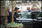 THE DUCHESS OF CORNWALL; PRINCE CHARLES, Memorial service for Mark Shand.  . St. Paul's Knightsbridge. September 11 2014.
