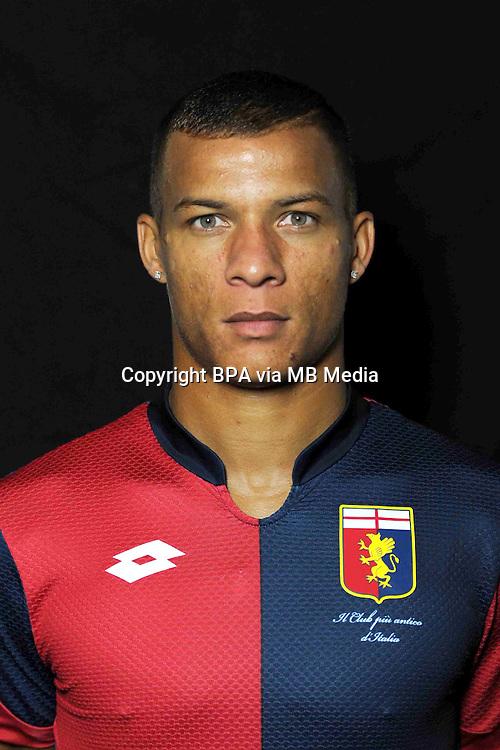 Italian League Serie A -2015-2016 / <br /> ( Genoa  CFC  ) - <br /> Sebastian De Maio