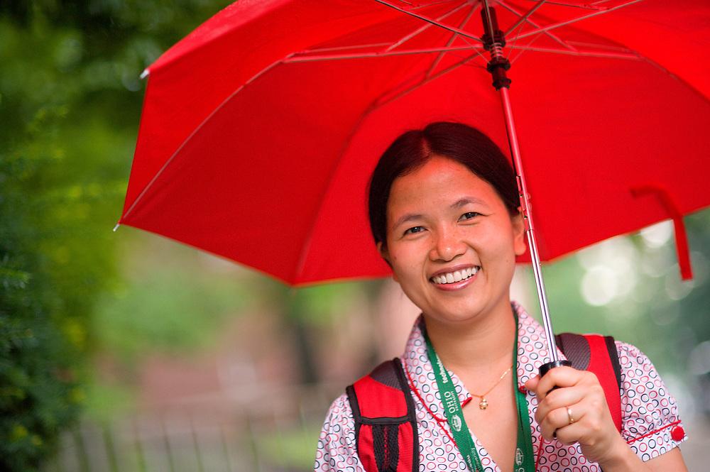 18964Campus shots summer rain..Ngan Nguyen from Vietnam