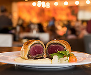 Beef Wellington at Hell's Kitchen.