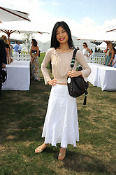 VANESSA MAE at the Cartier International Polo at Guards Polo Club, Windsor Great Park on 27th July 2008.<br /> <br /> NON EXCLUSIVE - WORLD RIGHTS