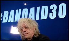 NOV 10 2014 Sir Bob Geldof launches BandAid30