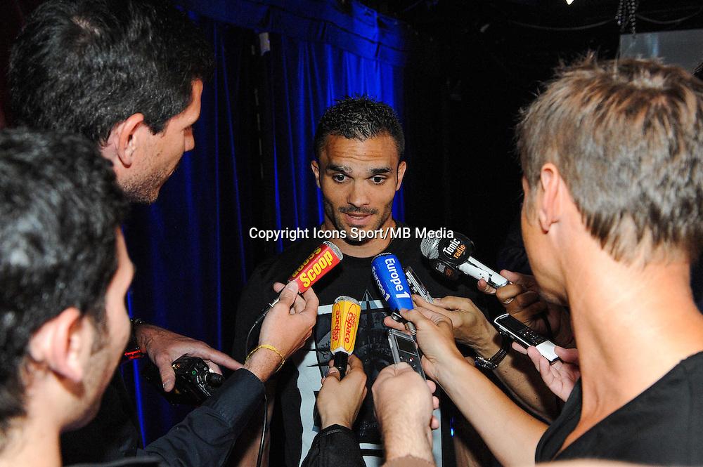 Jeremy MOREL - 01.06.2015 - Presentation du nouveau joueur de Lyon<br />Photo : Jean Paul Thomas / Icon Sport