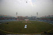 Cricket - India v Sri Lanka 3rdT D4 at Delhi