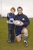 Bristol Coaching Camp at Chippenham RFC. 13-4-06. Pics with Players
