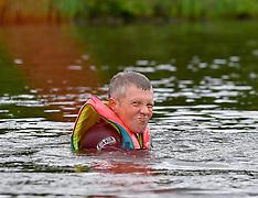 Scottish Lib Dem leader Willie Rennie hits the water, Dunfermline, 21 May 2019