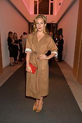 CHARLOTTE DELLAL at She Inspires Art in aid of Women for Women International's work, held at Bonham's, 101 New Bond Street, London on 16th September 2015.