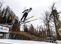 03.02.2019, Energie AG Skisprung Arena, Hinzenbach, AUT, FIS Weltcup Ski Sprung, Damen, im Bild Carina Vogt (GER) // Carina Vogt (GER) during the woman's Jump of FIS Ski Jumping World Cup at the Energie AG Skisprung Arena in Hinzenbach, Austria on 2019/02/03. EXPA Pictures © 2019, PhotoCredit: EXPA/ Reinhard Eisenbauer