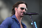 Jake Owen performs at the Big Dance Concert Series during Final Four weekend in Indianapolis, Indiana.