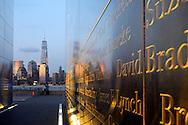 """Empty Sky"", New Jersey's Memorial. on twilight."