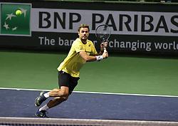 March 9, 2019 - Palm Desert, California, Usa - Tennis : BNP Paribas Open 2019 - Stan Wawrinka - Suisse (Credit Image: © Panoramic via ZUMA Press)