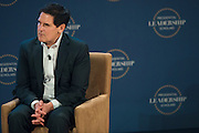 Dallas Mavericks owner, Mark Cuban, speaks at a graduation ceremony of the first class of the Presidential Leadership Scholars program at the George W. Bush Presidential Center in Dallas on Thursday, July 9.  (Cooper Neill for The New York Times)