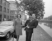 22/9/1970<br /> 9/22/1970<br /> 22 September 1970<br /> <br /> Capt. James Kelly (right) one of the accused with his wife (3rd form the left Mrs Theresa Connly, sister of Capt. Kelly