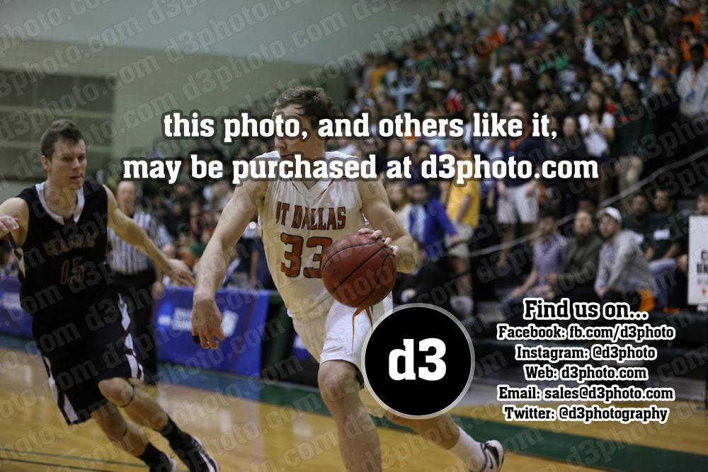2014 NCAA Division III Men's Basketball Round 1 Playoff,140307-CHAP-UTD,University of Texas - Dallas,Photo Taken by: Joe Fusco, d3photography.com