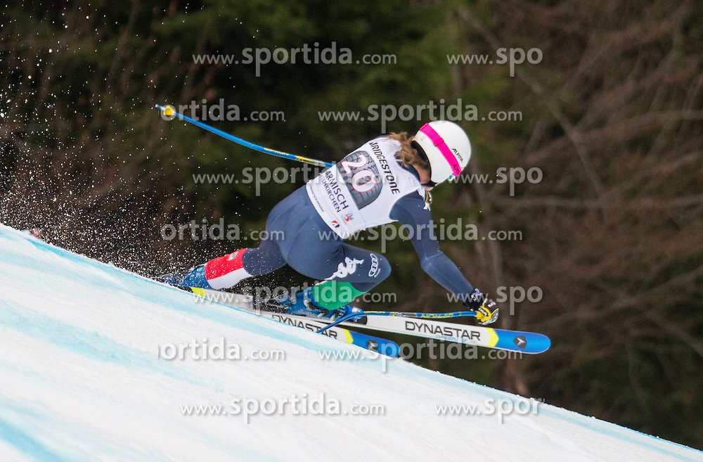 07.02.2016, Kandahar, Garmisch Partenkirchen, GER, FIS Weltcup Ski Alpin, Super G, Damen, im Bild Nadia Fanchini (ITA) // Nadia Fanchini of Italy competes during the ladies SuperG of Garmisch FIS Ski Alpine World Cup at the Kandahar course in Garmisch Partenkirchen, Germany on 2016/02/07. EXPA Pictures © 2016, PhotoCredit: EXPA/ Johann Groder