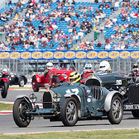 #13, Bugatti Type 35 (1925), Duncan Pittaway (GB), Kidston Trophy for Pre-War Sports Cars. 25.07.2015. Silverstone, England, U.K.  Silverstone Classic 2015.