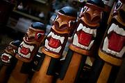Belo Horizonte_MG, Brasil...80 anos do Mercado Central. Na foto comercio de artesanato...80 years of Mercado Central. In this photo some crafts...Foto: LEO DRUMOND / NITRO
