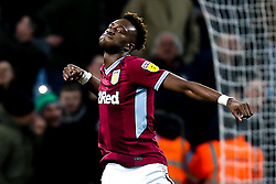 Tammy Abraham of Aston Villa celebrates after Andre Green of Aston Villa scoring a goal to make it 3-3 - Mandatory by-line: Robbie Stephenson/JMP - 08/02/2019 - FOOTBALL - Villa Park - Birmingham, England - Aston Villa v Sheffield United - Sky Bet Championship