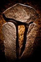 Zimsculpt at Van Dusen Botanical Garden: Balancing Rocks - springstone sculpture by Phineas Mashaya (original sculpture available at www.zimsculpt.com)