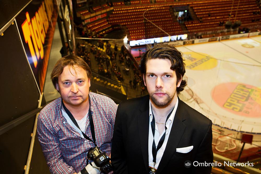 G&Auml;VLE  2012-04-15<br /> SM-FINAL ISHOCKEY BRYN&Auml;S VS SKELLEFTE&Aring; AIK<br /> NILS PETTER NILSSON OCH CARL JUBORG